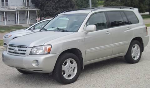 2005 Toyota Highlander for sale in Clarkson, NE