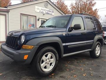 2005 Jeep Liberty for sale at Easy Motor Sales LLC in Florence KY