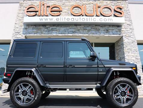 2017 Mercedes-Benz G-Class for sale at Elite Autos LLC in Jonesboro AR
