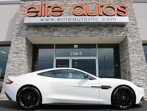 aston martin vanquish for sale in tennessee - carsforsale®