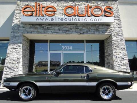 1969 Ford Mustang for sale at Elite Autos LLC in Jonesboro AR