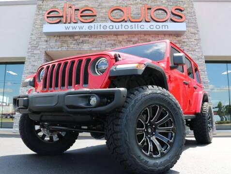 2018 Jeep Wrangler Unlimited for sale at Elite Autos LLC in Jonesboro AR