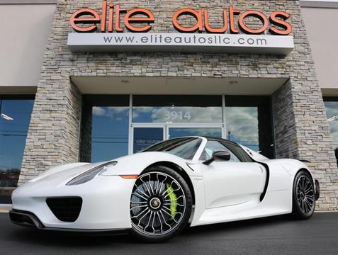 2015 Porsche 918 Spyder for sale in Jonesboro, AR
