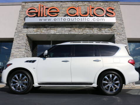 2014 Infiniti QX80 for sale at Elite Autos LLC in Jonesboro AR