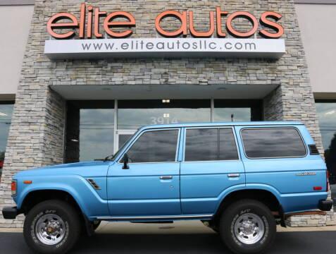 1984 Toyota Land Cruiser for sale at Elite Autos LLC in Jonesboro AR