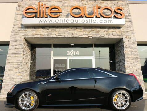 2013 Cadillac CTS-V for sale at Elite Autos LLC in Jonesboro AR