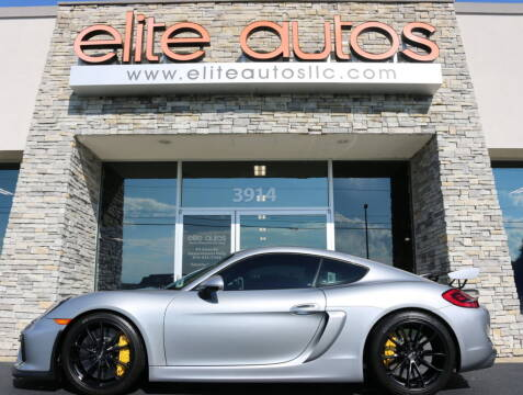 2016 Porsche Cayman for sale at Elite Autos LLC in Jonesboro AR