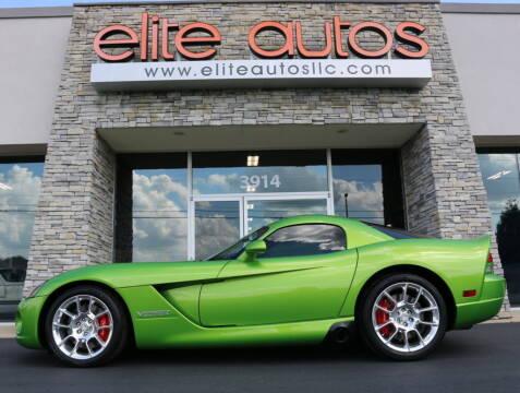 2008 Dodge Viper for sale at Elite Autos LLC in Jonesboro AR