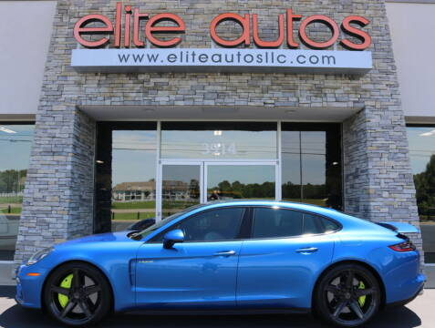 2018 Porsche Panamera for sale at Elite Autos LLC in Jonesboro AR