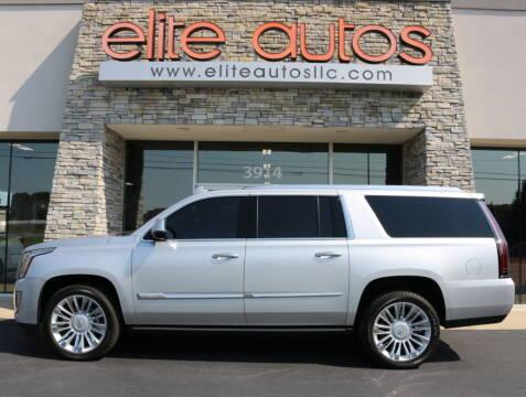 2016 Cadillac Escalade ESV for sale at Elite Autos LLC in Jonesboro AR