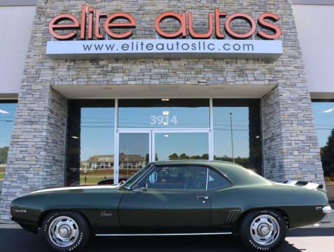 1969 Chevrolet Camaro for sale at Elite Autos LLC in Jonesboro AR