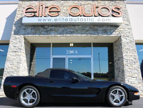 2000 Chevrolet Corvette for sale at Elite Autos LLC in Jonesboro AR