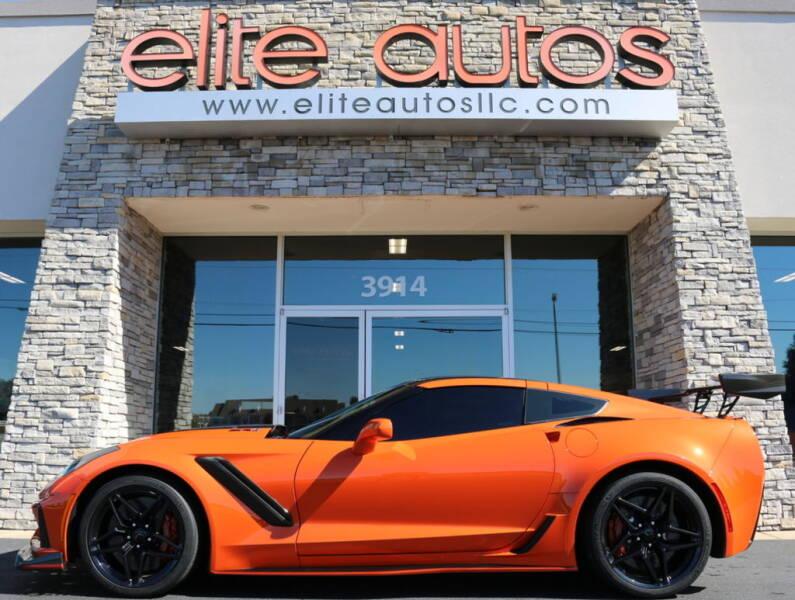 2019 Chevrolet Corvette for sale at Elite Autos LLC in Jonesboro AR