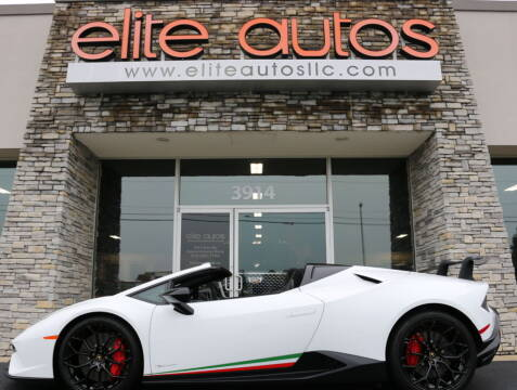 2018 Lamborghini Huracan for sale at Elite Autos LLC in Jonesboro AR