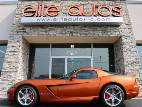 2010 Dodge Viper for sale at Elite Autos LLC in Jonesboro AR