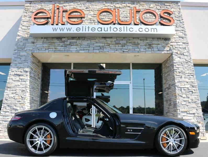 2011 Mercedes Benz SLS AMG 2dr Coupe   Jonesboro AR
