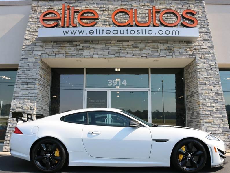 2014 Jaguar XK for sale at Elite Autos LLC in Jonesboro AR