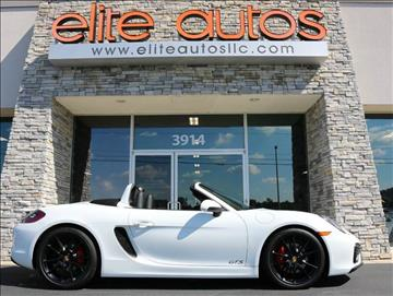 2016 Porsche Boxster for sale at Elite Autos LLC in Jonesboro AR