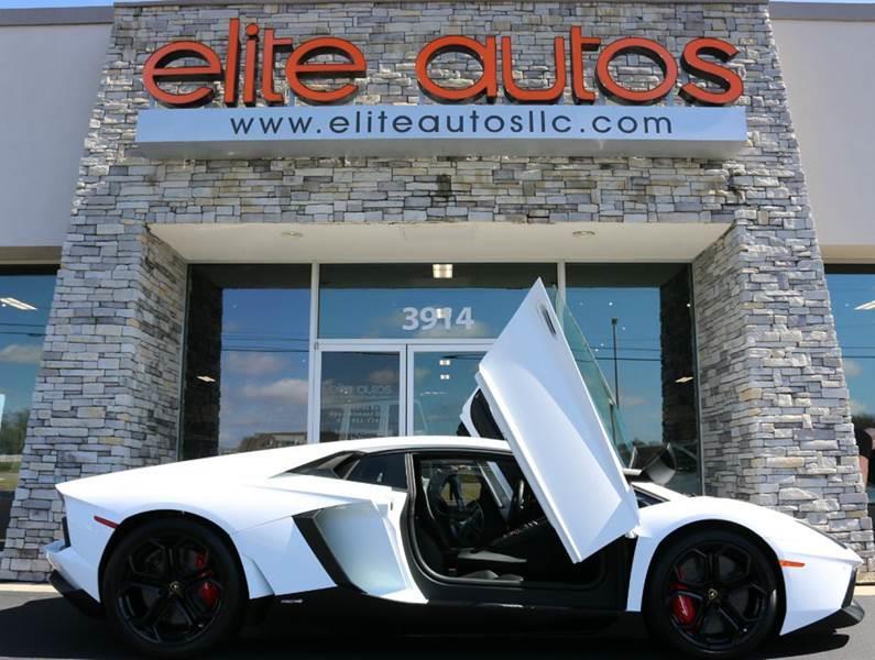 2012 Lamborghini Aventador for sale at Elite Autos LLC in Jonesboro AR