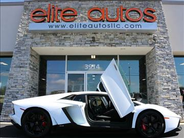 2012 Lamborghini Aventador for sale at Elite Autos LLC in Jonesboro AR