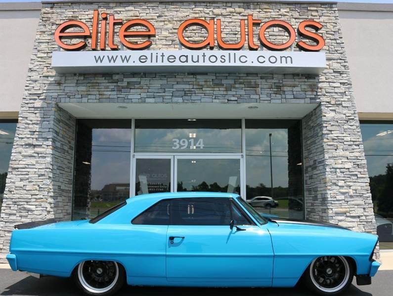 1967 Chevrolet Nova for sale at Elite Autos LLC in Jonesboro AR