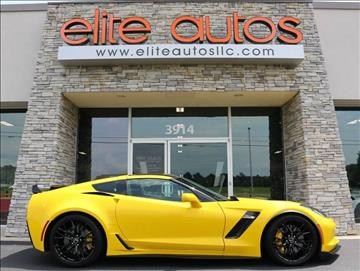 2015 Chevrolet Corvette for sale at Elite Autos LLC in Jonesboro AR