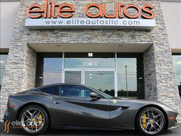 2015 Ferrari F12berlinetta for sale at Elite Autos LLC in Jonesboro AR