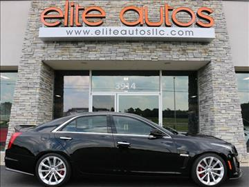 2016 Cadillac CTS-V for sale at Elite Autos LLC in Jonesboro AR