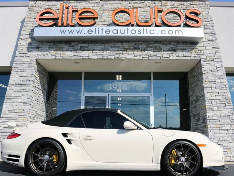 2012 Porsche 911 for sale at Elite Autos LLC in Jonesboro AR