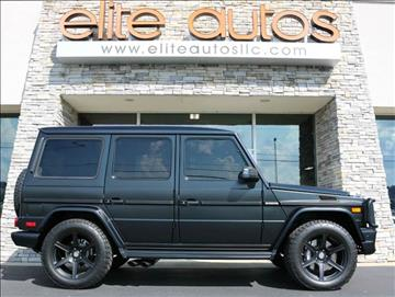 2016 Mercedes-Benz G-Class for sale at Elite Autos LLC in Jonesboro AR