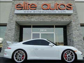 2015 Porsche 911 for sale at Elite Autos LLC in Jonesboro AR