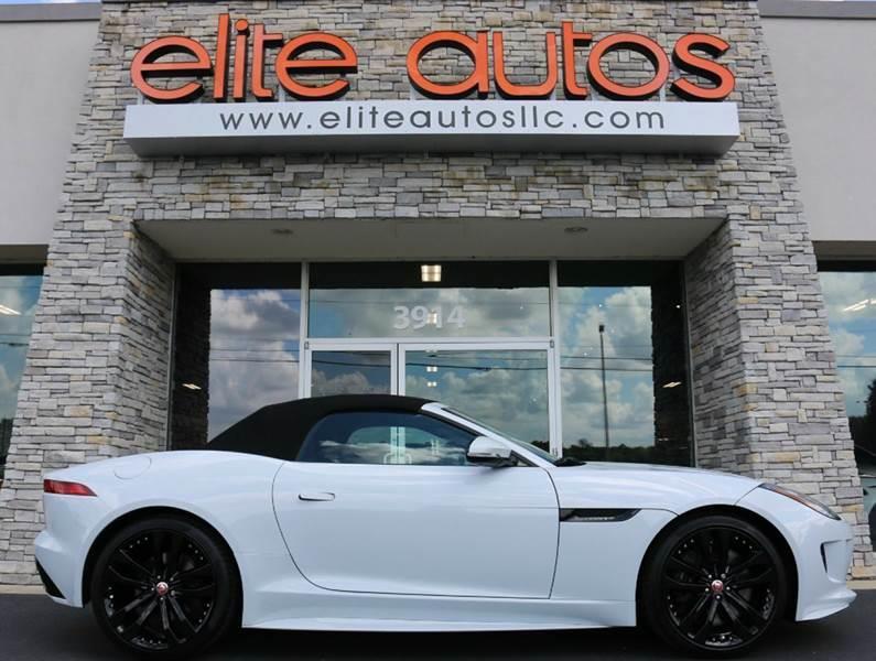 2016 Jaguar F-TYPE for sale at Elite Autos LLC in Jonesboro AR
