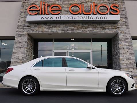 2014 Mercedes-Benz S-Class for sale at Elite Autos LLC in Jonesboro AR