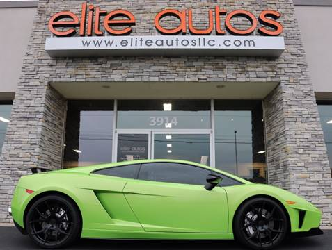 2008 Lamborghini Gallardo for sale at Elite Autos LLC in Jonesboro AR