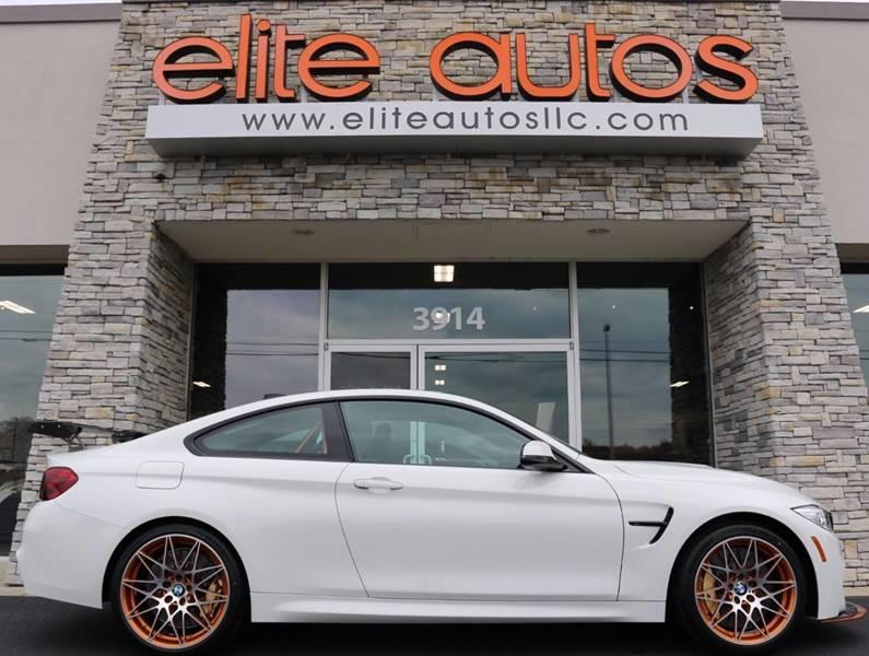 2016 BMW M4 for sale at Elite Autos LLC in Jonesboro AR