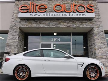 2016 BMW M4 for sale at Elite Autos LLC in Jonesboro AR