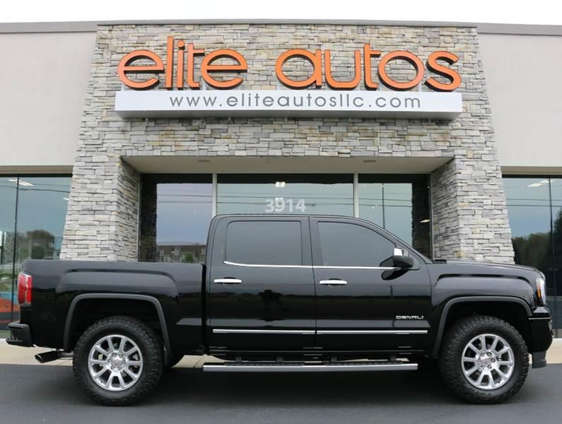 2016 GMC Sierra 1500 for sale at Elite Autos LLC in Jonesboro AR