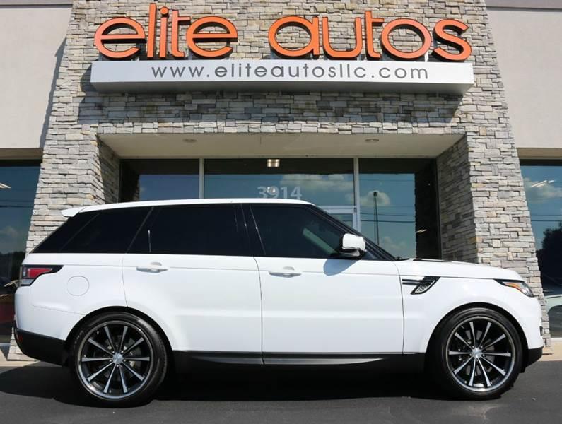 2014 Land Rover Range Rover Sport for sale at Elite Autos LLC in Jonesboro AR