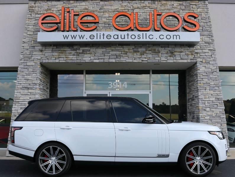 2014 Land Rover Range Rover for sale at Elite Autos LLC in Jonesboro AR