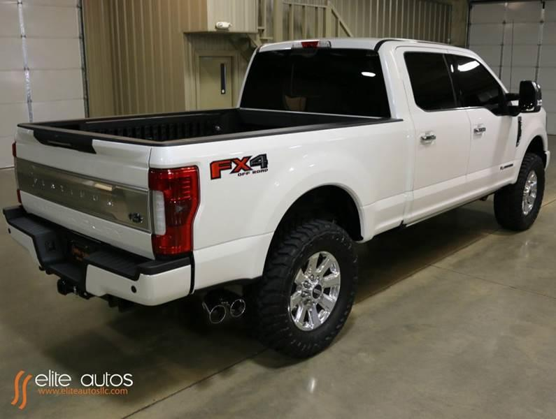 2017 ford f 250 super duty 4x4 platinum 4dr crew cab 6 8 ft sb pickup in jonesboro ar elite. Black Bedroom Furniture Sets. Home Design Ideas