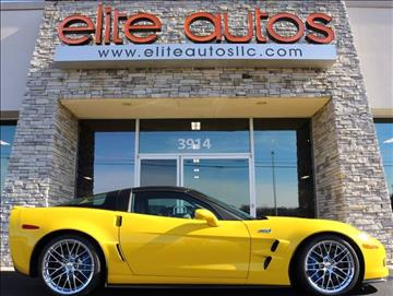 2010 Chevrolet Corvette for sale at Elite Autos LLC in Jonesboro AR