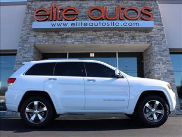 2014 Jeep Grand Cherokee for sale at Elite Autos LLC in Jonesboro AR