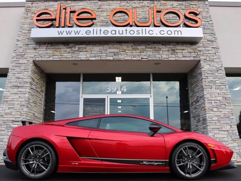 2013 Lamborghini Gallardo Lp 570 4 Superleggera 2dr Coupe In
