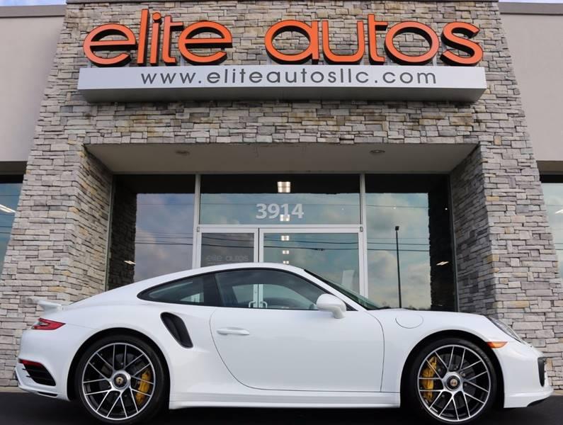2017 Porsche 911 for sale at Elite Autos LLC in Jonesboro AR
