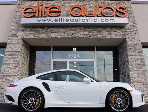 2017 Porsche 911 for sale at Elite Autos LLC in Jonesboro AR