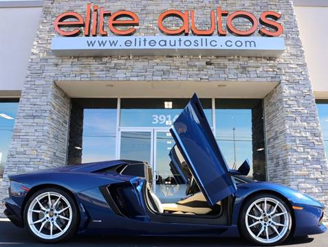 2013 Lamborghini Aventador for sale at Elite Autos LLC in Jonesboro AR