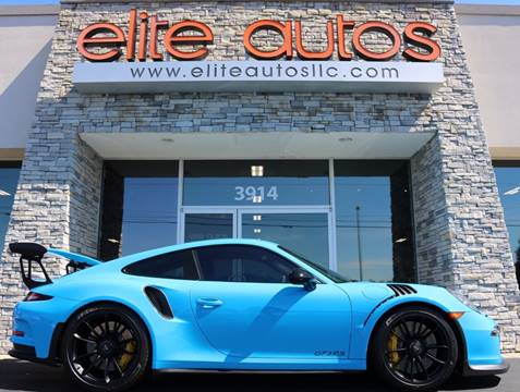 2016 Porsche 911 for sale at Elite Autos LLC in Jonesboro AR