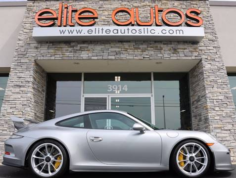 2014 Porsche 911 for sale at Elite Autos LLC in Jonesboro AR