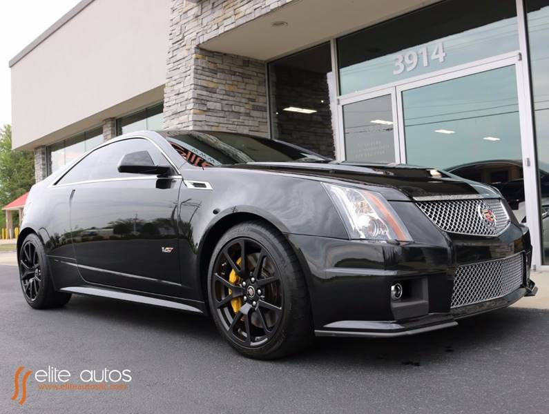 2011 cadillac cts v 2dr coupe in jonesboro ar elite autos llc. Black Bedroom Furniture Sets. Home Design Ideas