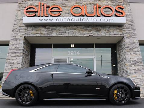 2011 Cadillac CTS-V for sale at Elite Autos LLC in Jonesboro AR